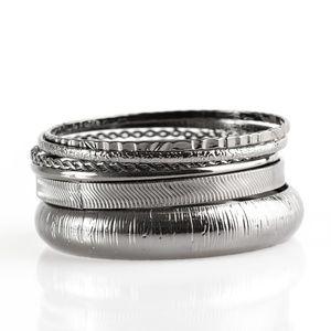 Standout Shimmer - Black Bracelets